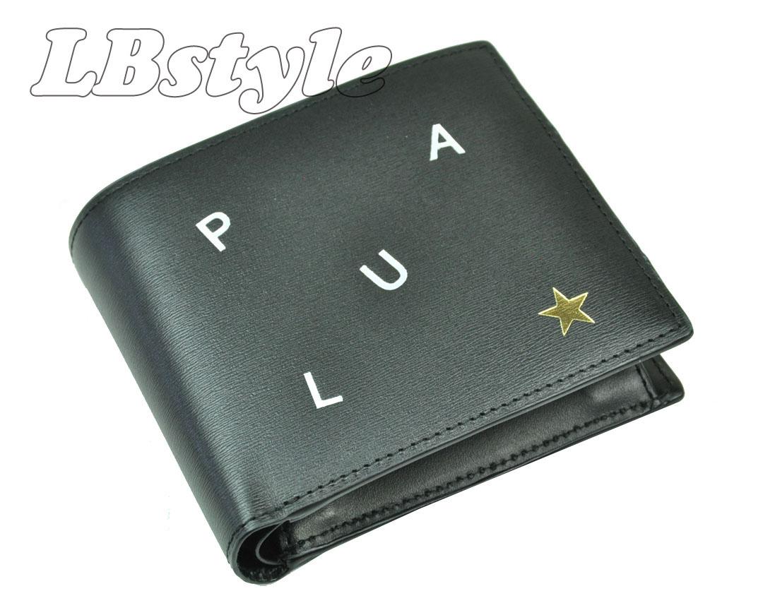 ポールスミス 財布 メンズ ポール・スミス 小銭入れ付き 二つ折り財布 paulsmith  PSレターズ 牛革 二つ折り財布 紳士財布 ポールスミス900-0883