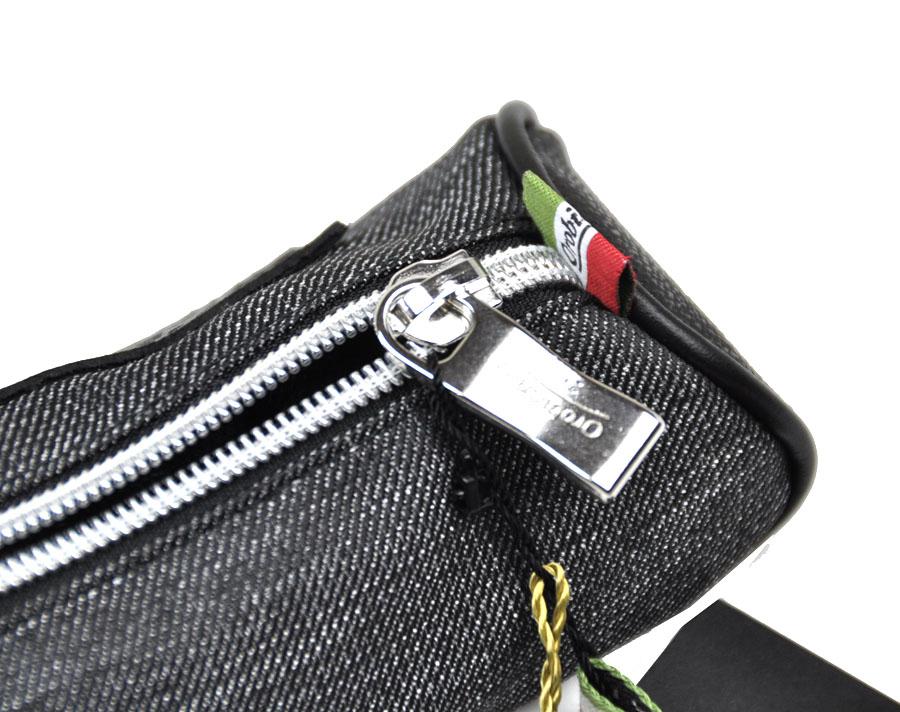 オロビアンコ ペンケース 小物入れ ポリエステル・レザー Orobianco ファスナー ペンケース 小物入れ イタリア製 ペンケース オロビアンコ200 1109txsQrdhC