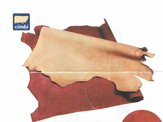 ロブレザー 全10色 約270デシ 2.2~2.4mm前後 デシ単価126円(税込)【送料無料】 [クラフト社] [価格変動品] レザークラフト半裁 1枚革 牛ヌメ革(カラー)