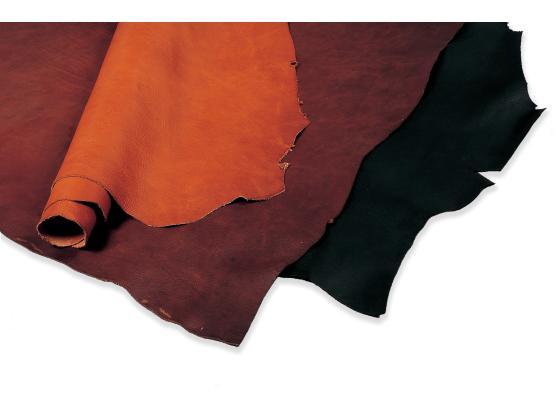 トスカーナ(牛ショルダー) 全9色 約135デシ 1.6mm前後 デシ単価181円(税込) ショルダー【送料無料】 [協進エル] [価格変動品] レザークラフト半裁・1枚革 牛ヌメ革(カラー)