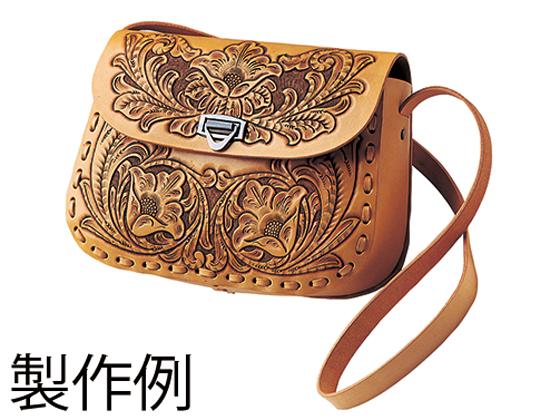 ビーナスショルダーキット ナチュラル 20×29×8cm【送料無料】 [クラフト社] レザークラフト皮革キット バッグ