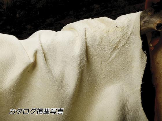 鹿革ヌバック 白 約120デシ 2.0mm/3.0mm デシ単価115円(税込) 全裁【送料無料】 [クラフト社] [価格変動品] レザークラフト半裁 1枚革 鹿革