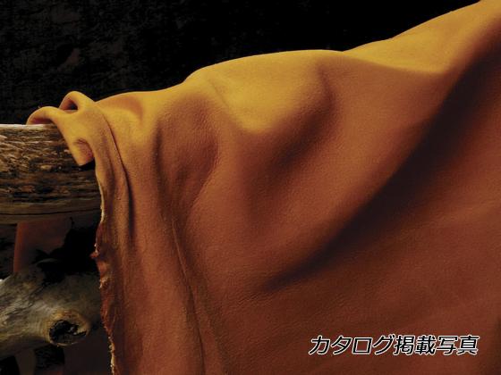 鹿革ヌバックワイルドスモーク ナチュラル 約110デシ 2.5mm デシ単価198円(税込) 全裁【送料無料】 [クラフト社] [価格変動品] レザークラフト半裁 1枚革 鹿革