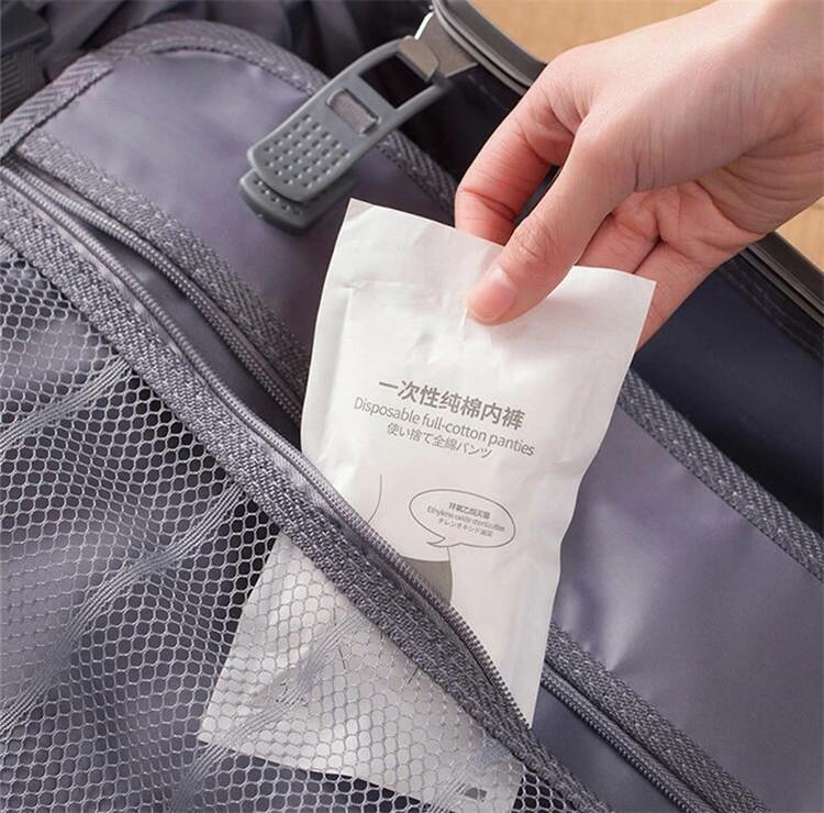 現品 使い捨てパンツ ショーツ 綿100% 便利 EOガス3枚 使い捨てショーツ 女性用パンツ 3枚 与え 出産用 旅行グッズ 便利グッズ 旅行用品 レディース