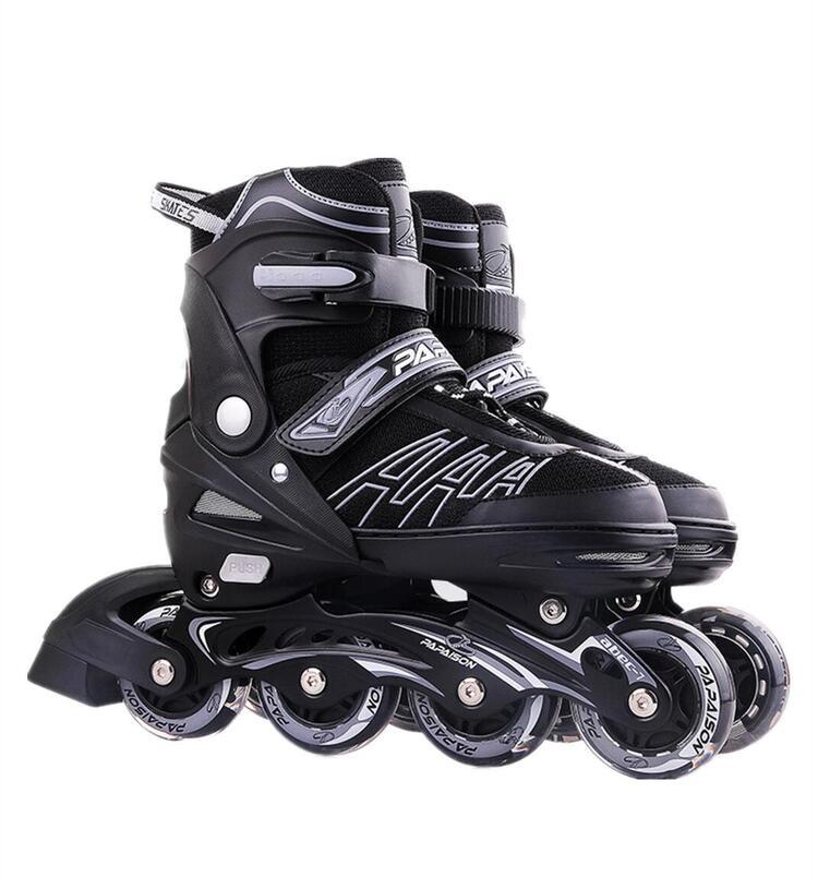 2020新作 インラインスケート ローラースケート 男女兼用 子供 ジュニア キッズ 誕生日 プレゼント シングルフラッシュ 初心者向け フルフラッシュ 大きいサイズ 売り出し