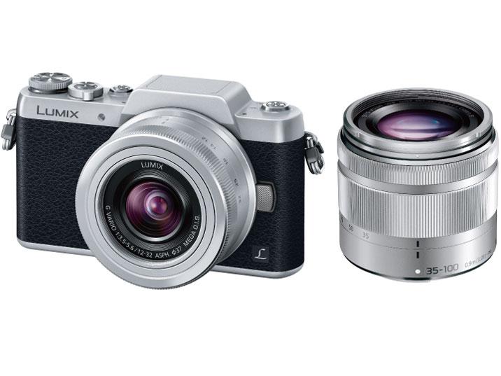 【数量は多】 パナソニック(Panasonic) LUMIX [シルバー] DMC-GF7W-S LUMIX DMC-GF7W-S ダブルズームレンズキット [シルバー] デジタル一眼カメラ, TABLE & STYLE:c5e0952e --- bellsrenovation.com