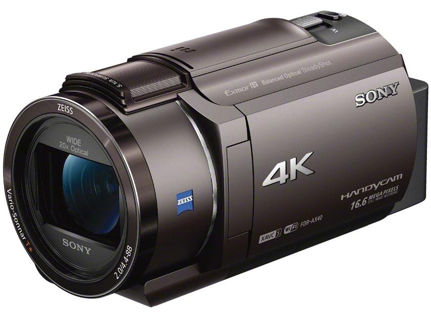 SONY(ソニー) FDR-AX40 (TI) [ブロンズブラウン] ビデオカメラ ハンディカム/