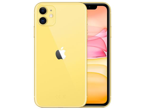 【即納・在庫あり・5%還元対象】【アップル版・未開封】Apple(日本)iPhone 11 128GB SIMフリー [イエロー] 本体