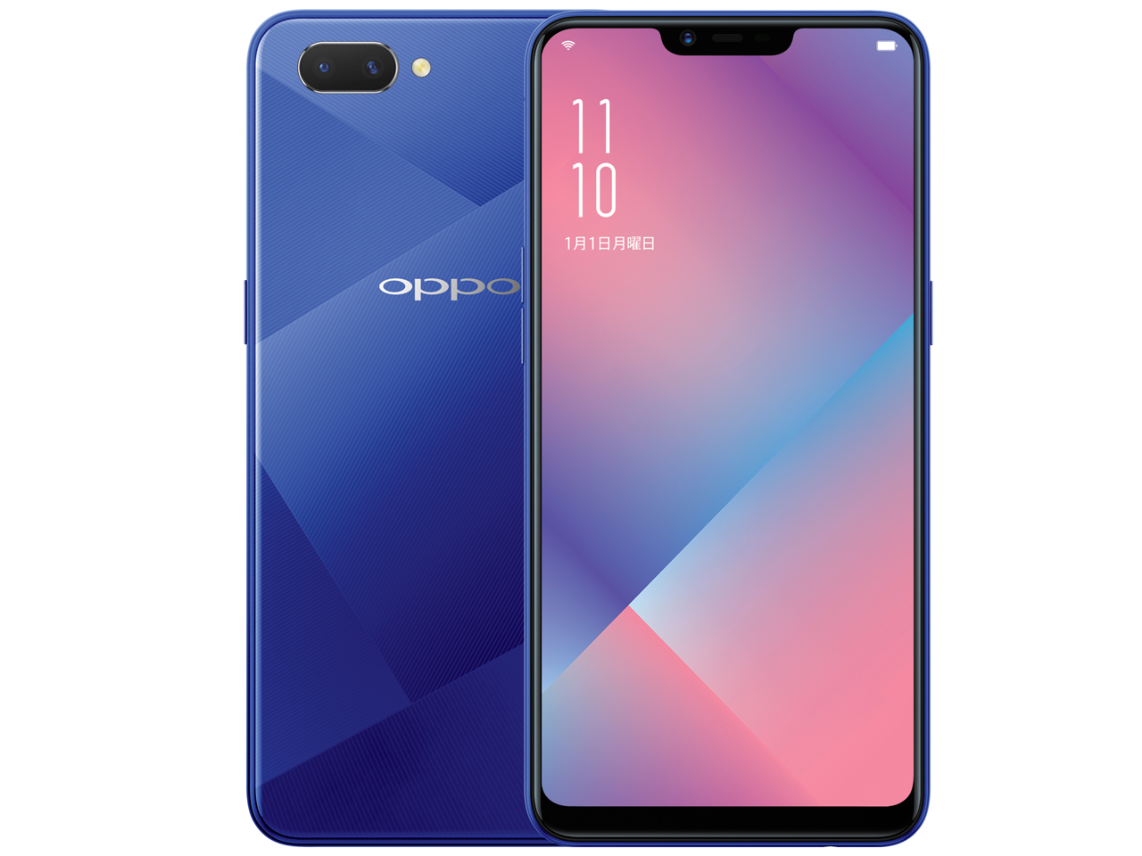 OPPO R15 Neo 4GBメモリー SIMフリー [ダイヤモンドブルー] 2018年夏モデル JAN:4580038873419