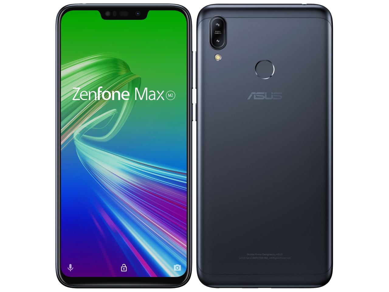 ZenFone Max (M2) 64GB SIMフリー [ミッドナイトブラック] 2019年秋モデル JAN:4718017528740