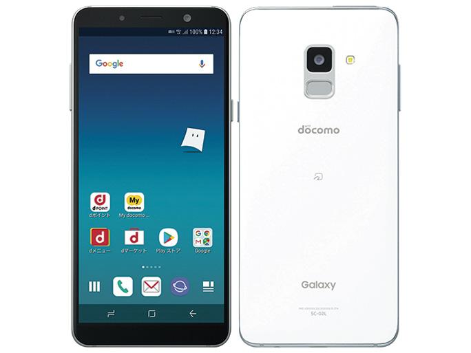 Galaxy Feel2 SC-02L [フロストホワイト] SIMロック解除済 白ロム docomo 2018年冬春モデル