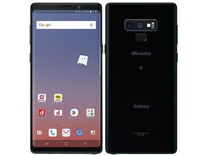 Galaxy Note9 SC-01L [ミッドナイト ブラック] SIMロック解除済 白ロム docomo サムスン(SAMSUNG) 2018年冬春モデル