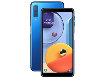 Galaxy A7 [ブルー]  版 SIMフリー 2019年秋モデル JAN:4986773190116