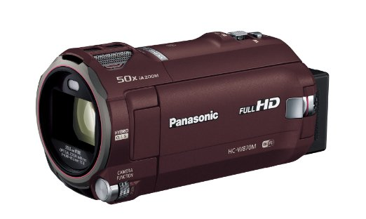 Panasonic(パナソニック) HC-W870M-T [ブラウン] ハンディカメラ