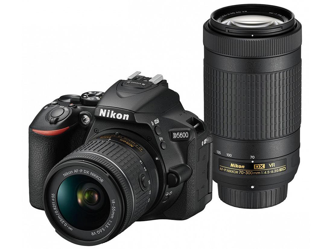 ニコン(Nikon) D5600 ダブルズームキット 一眼レフ JAN:4960759148117