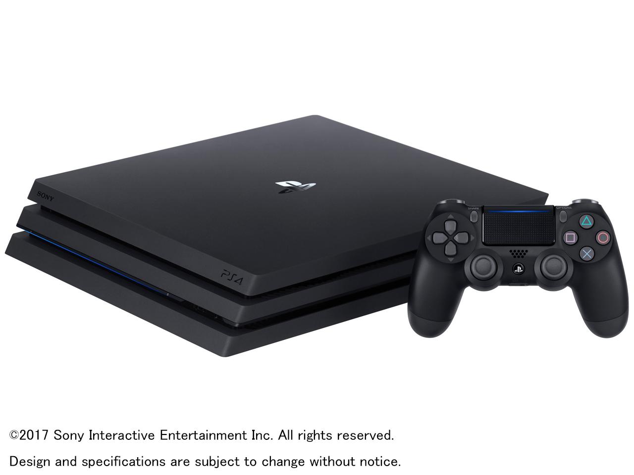 SONY(ソニー) プレイステーション4 Pro HDD 1TB ジェット・ブラック CUH-7100BB01 ゲーム機/