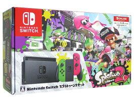 任天堂 Nintendo Switch スプラトゥーン2セット 個人プラン3か月(90日間)利用券付 ※箱角破れ有