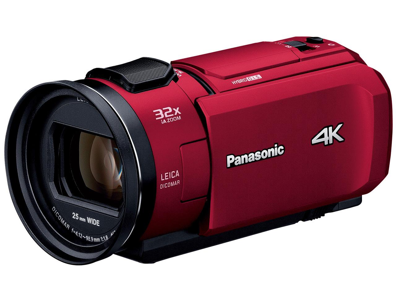 パナソニック(Panasonic) HC-VZX1M [レッド] デジタル4Kビデオカメラ