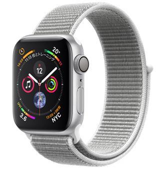 Apple Watch Series 4 GPSモデル 40mm MU652J/A [シーシェルスポーツループ] JAN:4549995045437