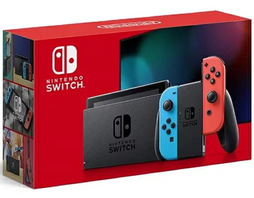 【アウトレット・新品・(写真記載あり)】Nintendo Switch HAD-S-KABAA JOY-CON(L) ネオンブルー/(R) ネオンレッドJAN:4902370542912※倉庫からの移動中に箱傷みあり※