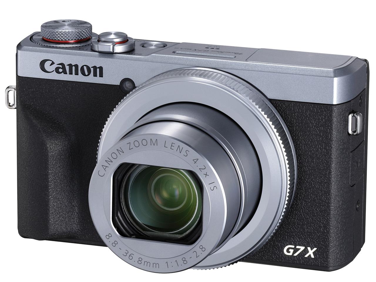 【在庫あり】CANON G7X Mark III [シルバー]デジタルカメラ JAN:4549292137804