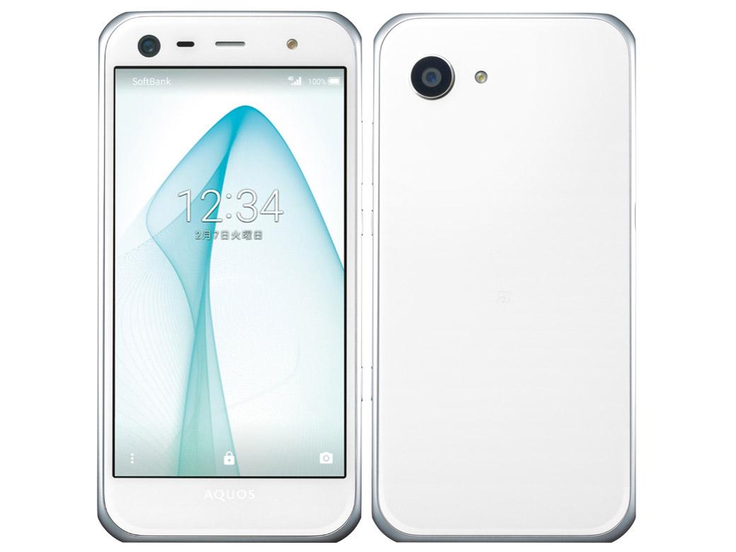 AQUOS Xx3 mini [ホワイト] SoftBank シャープ(SHARP) 白ロム 2016年冬春モデル  JAN:4549046014610