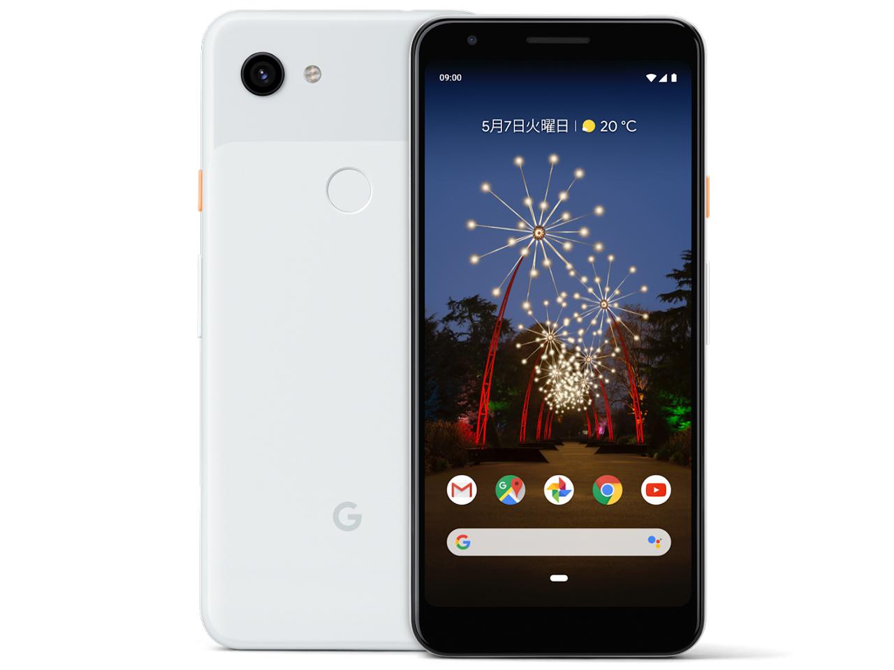 Google Pixel 3a [Clearly White] SIMロック解除済 SoftBank 白ロム  2019年春モデル JAN:4549046089045