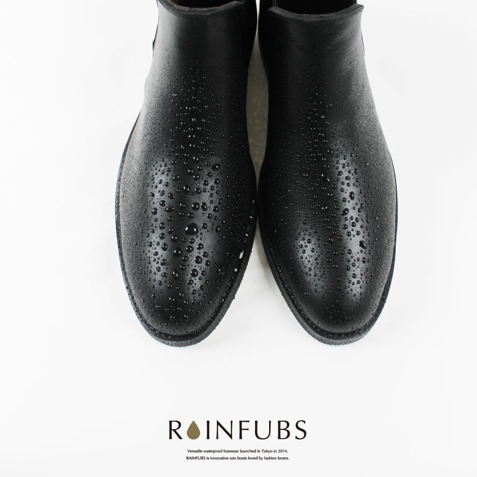 [最新作]送料無料【RAINFUBS レインファブス】ショート サイドゴア レインブーツ GRAIN グレイン メンズ 男性 ビジネス スーツ 雨晴れ兼用 完全防水 25~27cm レインシューズ 長靴 靴 通勤 人気 おしゃれ 父の日 誕生日 プレゼント ギフト