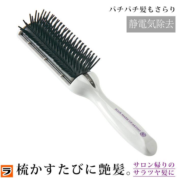 髪の毛をとくとパチパチする…静電気が起こりにくいヘアブラシのオススメは?