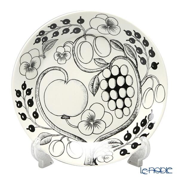 アラビア (ARABIA) パラティッシ ブラック プレート 26cm 食器 北欧 イエロー パープル 皿 お皿 ブランド 結婚祝い 内祝い