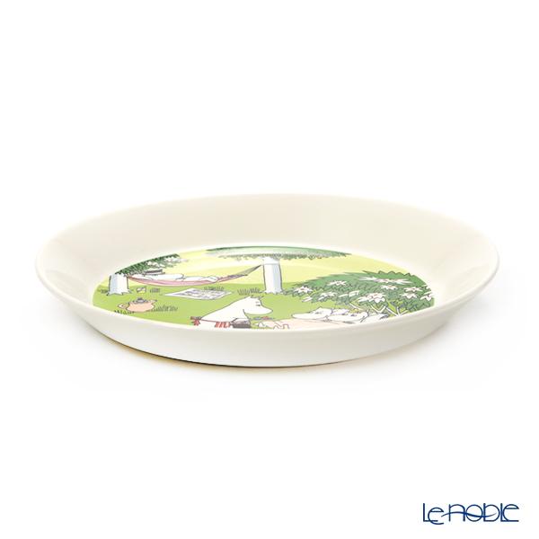 Moomin Plate 19 cm Relaxing Summer 2020