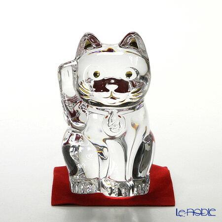 バカラ (Baccarat) オブジェ 2-607-786 まねき猫 10cm【楽ギフ_包装選択】 お祝い ギフト 置物 フィギュリン インテリア