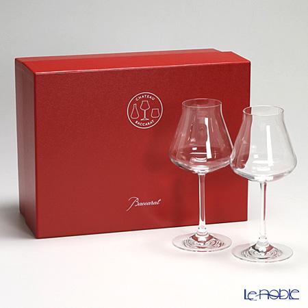バカラ Baccarat お祝い ギフト シャトーバカラ グラス ワイングラス 赤ワイン 食器 ブランド 結婚祝い 内祝い 高級 赤ワイングラス おしゃれ プレゼント 2-611-151 引き出物 父の日プレゼント L セール商品 供え ペア 21.7cm 赤 ペアグラス