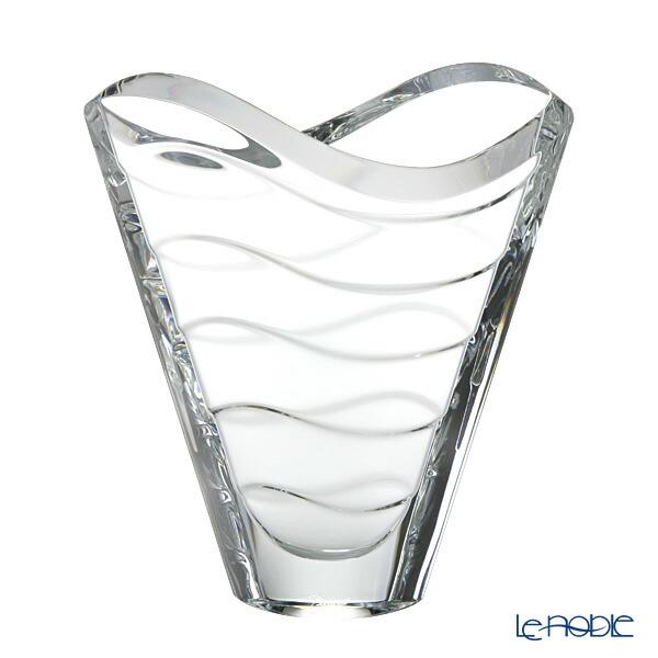 バカラ (Baccarat) ウェーブ 2-102-668 ベース(花瓶) 22.5cm【楽ギフ_包装選択】 グラス お祝い ギフト おしゃれ フラワーベース