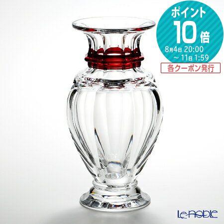 バカラ (Baccarat) アルクール 2-802-262 バラスターベース(花瓶) 32cm レッド【楽ギフ_包装選択】 グラス お祝い ギフト おしゃれ フラワーベース
