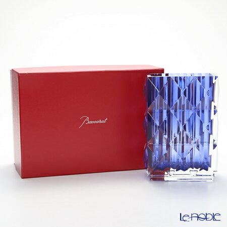 バカラ (Baccarat) ルクソール 2-811-094 ベース(花瓶) ブルー 20cm【楽ギフ_包装選択】 ガラス お祝い ギフト おしゃれ フラワーベース