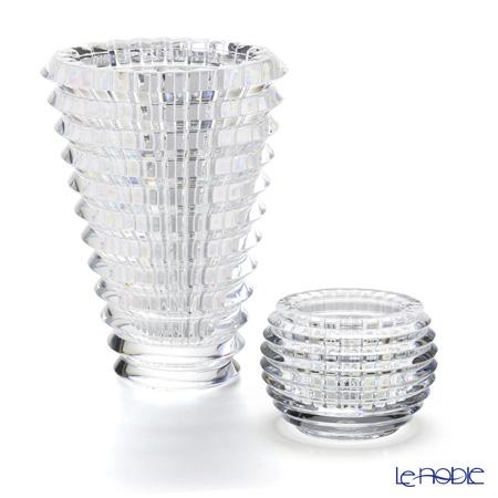 バカラ (Baccarat) EYE 2点セット ベース&キャンドルホルダー グラス お祝い ギフト アイ(EYE) 花瓶 おしゃれ フラワーベース