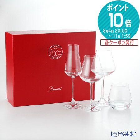 バカラ (Baccarat) シャトーバカラ 2-811-925 マイシャトーバカラセット(4pcs) お祝い ギフト グラス ガラス 結婚祝い 食器 ブランド 内祝い