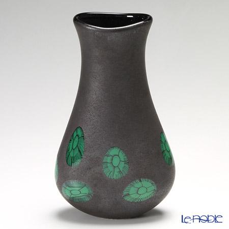 バラリン ブラウンベース L #064 グリーン【楽ギフ_包装選択】 花瓶 おしゃれ フラワーベース