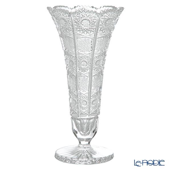 ボヘミア PK500 82056/57001/255 ベース(花瓶) H25.5cm【楽ギフ_包装選択】 おしゃれ フラワーベース