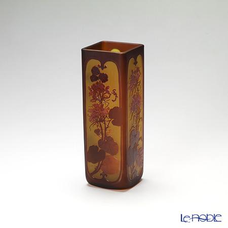 (ガレタイプ) ベース レッドフラワー V24.09【楽ギフ_包装選択】 花瓶 おしゃれ フラワーベース