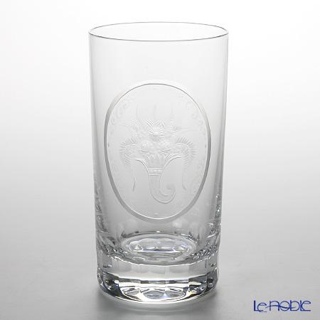 クリスタル・ドゥ・ノーブル アンティーク プレインオーナメント タンブラー 14cm【楽ギフ_包装選択】 グラス 食器 おしゃれ ブランド