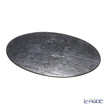 Rack Art Nouveau oval placemat (L) Silver (Silver)