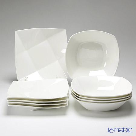 プリモビアンコ 白の器 10点セット(L)【楽ギフ_包装選択】 白い食器 食器セット 新生活 おしゃれ ブランド