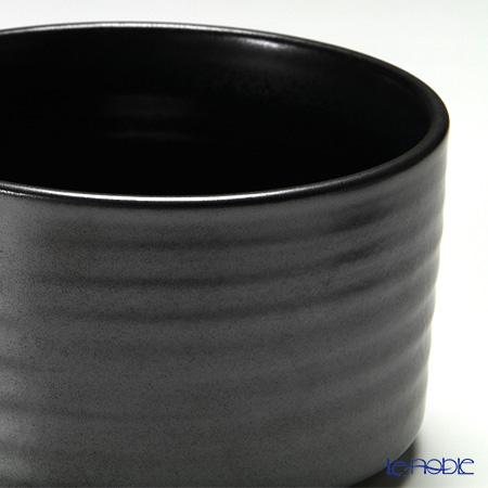 信楽焼魔法的容器饭容器黑
