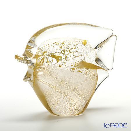 コッレヴィルカ フィッシュ ゴールド 10cm M2201218【楽ギフ_包装選択】 置物 オブジェ インテリア