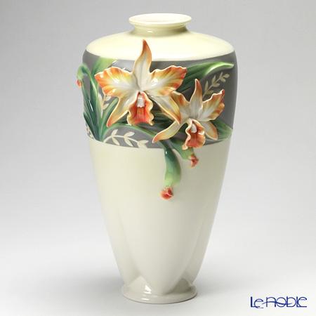 フランツ・コレクション カトレア ベース 35cm FZ02881【楽ギフ_包装選択】 花瓶 おしゃれ フラワーベース