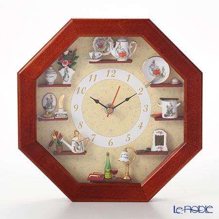 ロイター・ポーセリン ビアトリクスポター 056668/0 ピーターラビット ウォールクロック【楽ギフ_包装選択】 時計 壁掛け 壁掛け時計 おしゃれ