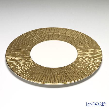ルザーン ニューボーン ルシファー プレート 30.5cm ゴールド LF5131GW 皿 お皿 食器 ブランド 結婚祝い 内祝い
