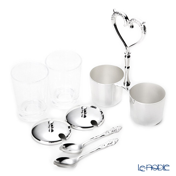 Hayakawa silver jam stands (the sugar case and business) 13-70 kitchen  article miscellaneous goods cooking